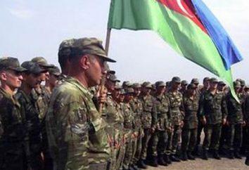 armée azerbaïdjanaise, sa composition et les tâches