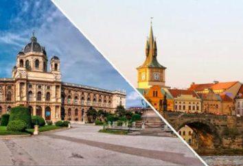 Wien – Prag (Zug): Fahrzeit, Entfernung. Tickets nach Prag