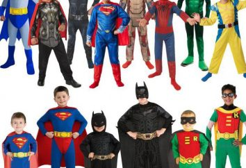Jak zrobić kostium superbohatera dla chłopca z rękami?