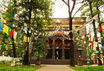 templi buddisti a San Pietroburgo. templi buddisti in Russia