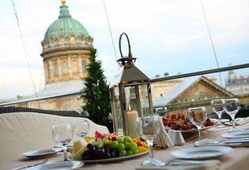 "Restauracje na dachach Petersburgu: Terrassa, Luce, ""Penthouse"", ""Heaven"" i Sky Terrace"