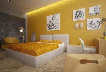 Un'idea interessante per camera da letto (foto)