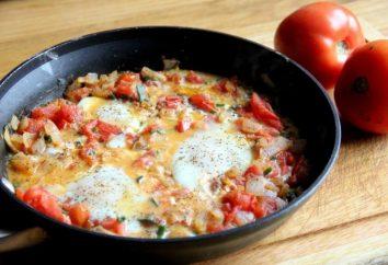 pomodori arrostiti con le uova: ricette