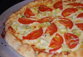 Como cozinhar a massa de pizza fina?