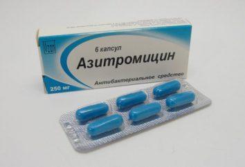 """""""Azitromicina"""" per i bambini: manuale di istruzioni, recensioni"""