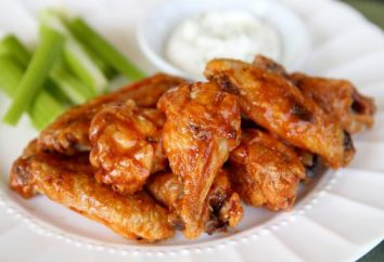 Sposoby gotowania skrzydełka z kurczaka. Sos do skrzydełka z kurczaka