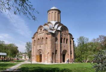 chiesa Pyatnitskaya in Chernigov: foto e la storia