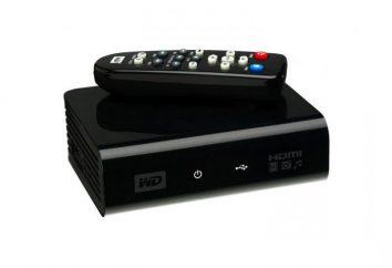 Odtwarzacz multimedialny dla telewizora. Cyfrowy odtwarzacz multimedialny