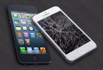 Sustitución del cristal en el iPhone 5S con sus manos