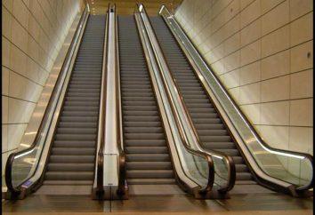 Qu'est-ce qu'un escalier mécanique, comme la course, où ensemble
