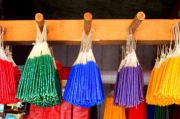 Jerozolima świeca: jak światło i jakie jest znaczenie kolorów