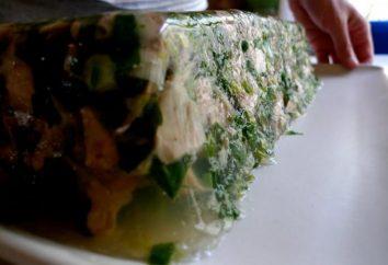 Cómo hacer un delicioso y nutritivo patas de pollo en gelatina