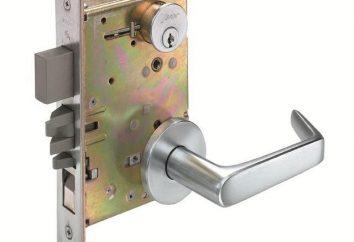 fechadura da porta: Define o dispositivo, reparação, substituição. Instruções para instalar uma fechadura de porta com suas próprias mãos
