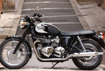 Triumph Bonneville – una motocicleta con su historia, corredor y de la película de carácter