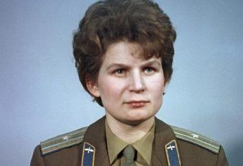 Przykładowy Radziecki biografia: Tereshkova Valentina