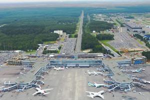 Domodedovo système d'aéroports, les terminaux, les infrastructures