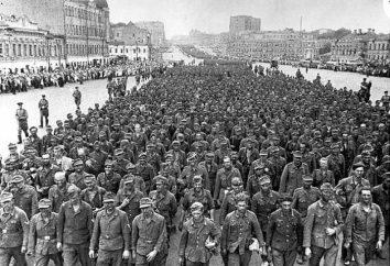 Niemieckich jeńców wojennych w ZSRR: warunki aresztowania, repatriacja