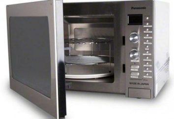 Vapor forno Inverter Microondas: descrição, modelos e comentários
