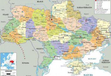 Cómo dividir Ucrania? Lista de las regiones de Ucrania