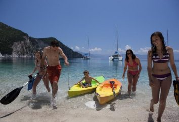 Quel meilleur endroit pour se détendre avec leurs enfants en Grèce dans la mer Méditerranée?