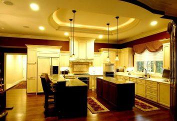Il miglior design del soffitto in cucina