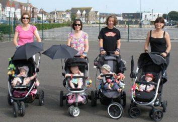 O transporte das crianças desde o nascimento até dois anos