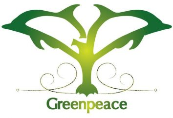 "Was ""Greenpeace"" gesetzt. Internationale Organisation ""Greenpeace"""