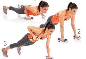 Prensa superior: un conjunto de ejercicios, recomendaciones y comentarios