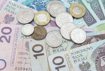moeda polonês: familiarizado com zlotys