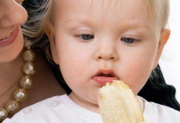 Powyżej ile miesięcy można dać dziecku banana?