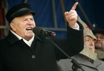 Vladimir Zhirinovsky Volfovich: biografia del leader del Partito Liberal Democratico