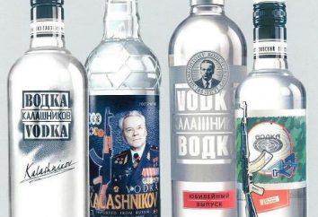 """Vodka """"Kalashnikov"""": Beschreibung und Fotos"""