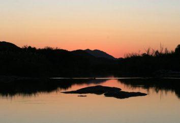 Orange River africaine – l'espoir et la beauté du continent