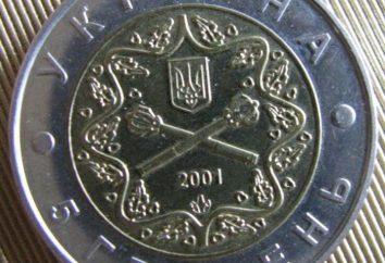 Seltene Münzen der Ukraine: Beispiele und Beschreibung