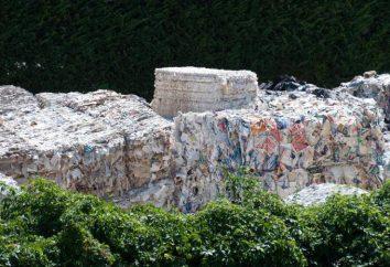 Recyclage de déchets de papier: la technologie, l'équipement
