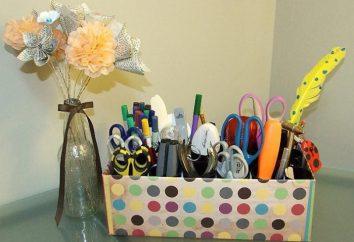 Zrobić piękne i praktyczne rzeczy z pudełka spod buta z twoich rękach