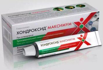 """""""Chondroxide Maximum"""": instrukcje użytkowania i sprzężeniem zwrotnym"""