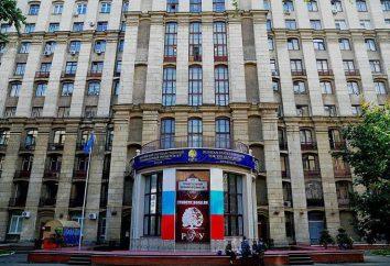 RSUH: mistrzowie wydziały. Rosyjski Państwowy Uniwersytet Humanistyczny