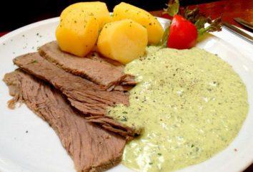 Wie kann man Frankfurt grüne Sauce kochen