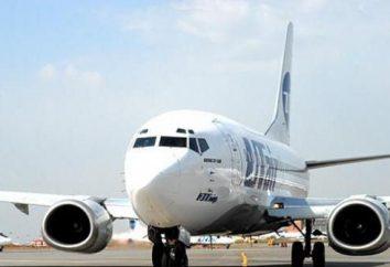 """Compagnie aérienne """"UTair"""". avions Park. Les vols de passagers et de fret"""