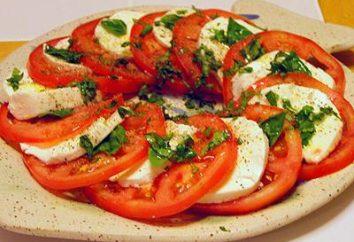 Caprese z mozzarellą – Włoski ulubioną przekąskę!