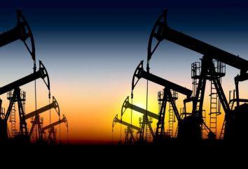 Le pétrole brut dans le monde. marque pétrolière russe