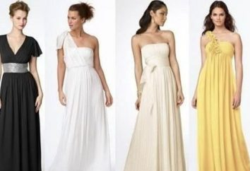 Les longues robes dans le style grec: transformer en Aphrodite