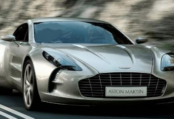 Aston Martin One-77: supercar und eine halbe Million Dollar