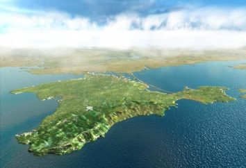 Péninsule de Crimée. Carte de la péninsule de Crimée. La région de la péninsule de Crimée
