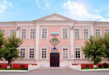 Ishim State Instytut Pedagogiczny. PP Yershov: działy i warunki przyjęć