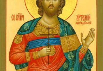Santa Grande Artemije: la vita. La preghiera GreatMartyr Artemy