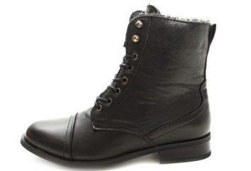 Samce i samice wysokie buty: rodzaje, kombinacja i zalecenia