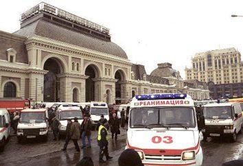 """L'attacco terroristico alle """"Avtozavodskaya"""" terribili conseguenze del terrorismo"""