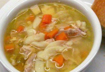 A receita original para os bolinhos de sopa
